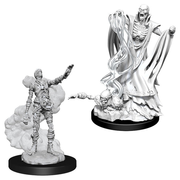 PREORDER - D&D Nolzur's Marvelous Miniatures: Lich & Mummy Lord (90020)