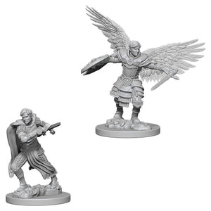 D&D Nolzur's Marvelous Miniatures: Male Aasimar Fighter (73380)