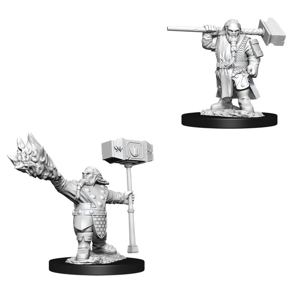 PREORDER - D&D Nolzur's Marvelous Miniatures: Male Dwarf Cleric (90003)