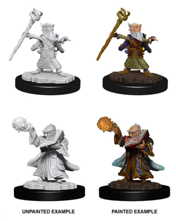 D&D Nolzur's Marvelous Miniatures: Male Gnome Wizard (73382)