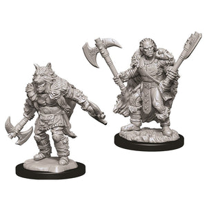 D&D Nolzur's Marvelous Miniatures: Male Half Orc Barbarian (73704)
