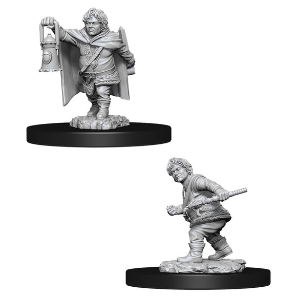 PREORDER - D&D Nolzur's Marvelous Miniatures: Male Halfling Rogue (90006)