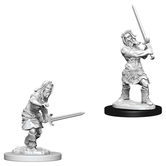 Pathfinder Deep Cuts: Male Human Barbarian (73413)