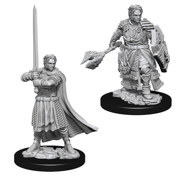 D&D Nolzur's Marvelous Miniatures: Male Human Cleric (73672)