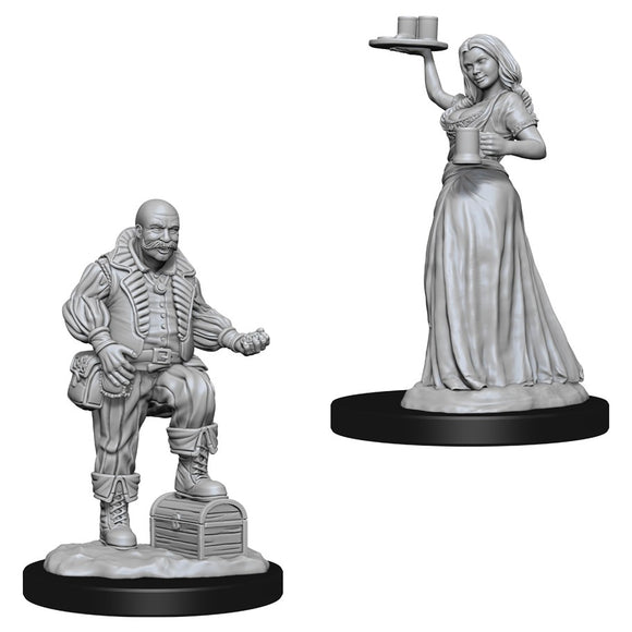 Pathfinder Deep Cuts: Merchants (Serving Girl/Merchant) (72584)