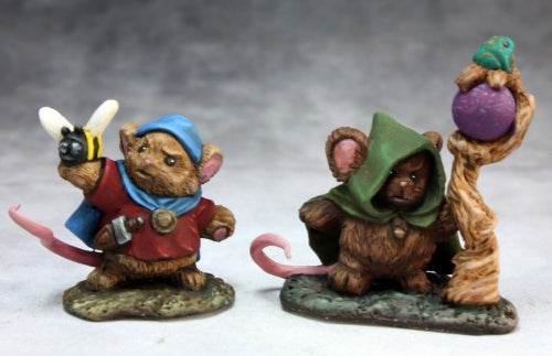 Reaper Bones: Mousling Druid and Beekeeper (77290)