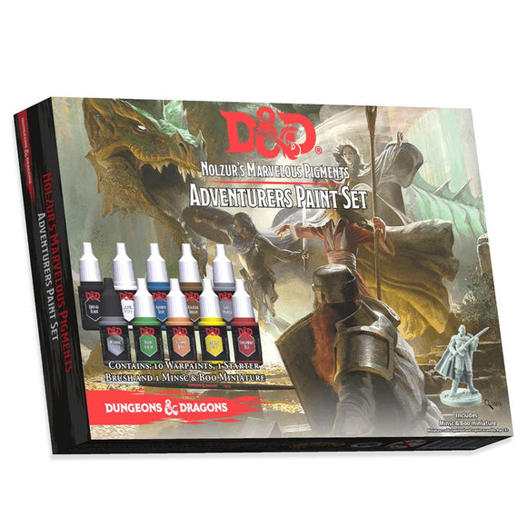 D&D Nolzur's Marvelous Pigments: Adventurers Paint Set (75001)