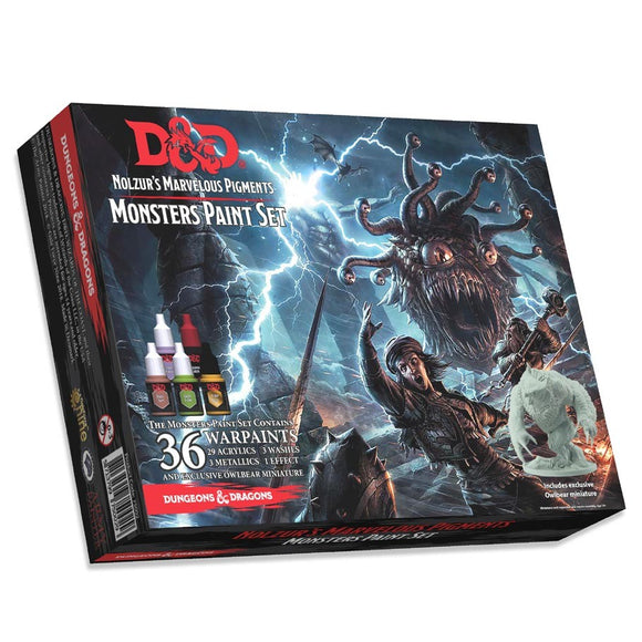 D&D Nolzur's Marvelous Pigments: Monsters Paint Set (75002)