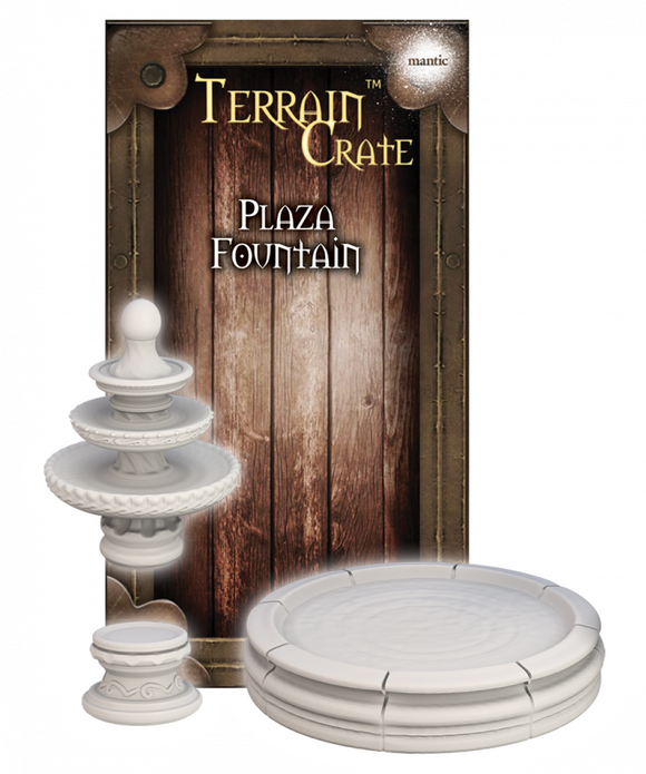 Mantic Games - Terrain Crate: Plaza Fountain (MGTC172)
