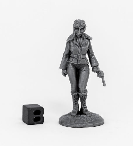 Reaper Chronoscope Bones: Pulp Era Female Pilot (80070)