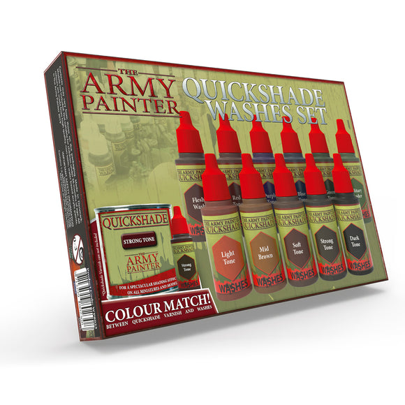 The Army Painter Quickshade Wash: Quickshade Washes Set (WP8023)