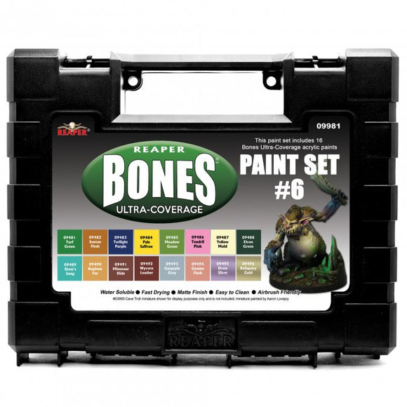 Reaper MSP Bones: Ultra-Coverage Paint Set #6 (09981)