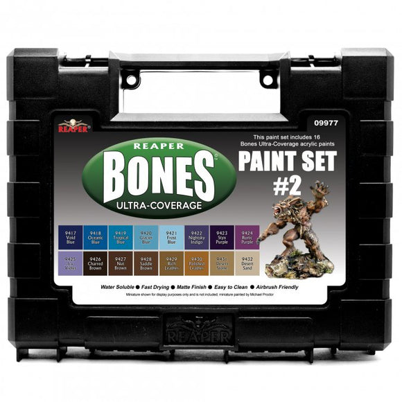 Reaper MSP Bones: Ultra-Coverage Paint Set #2 (09977)