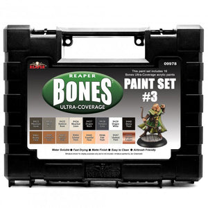 Reaper MSP Bones: Ultra-Coverage Paint Set #3 (09978)