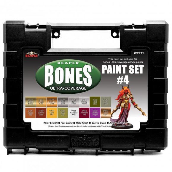 Reaper MSP Bones: Ultra-Coverage Paint Set #4 (09979)