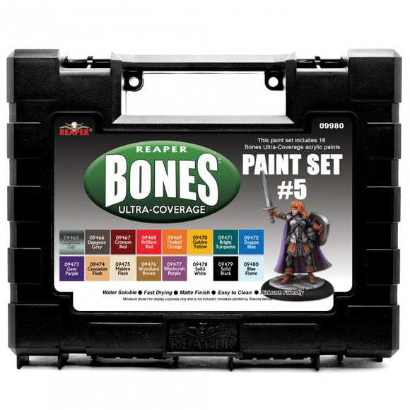 Reaper MSP Bones: Ultra-Coverage Paint Set #5 (09980)