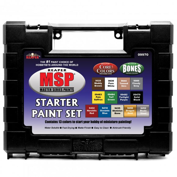 Reaper Master Series Paints: Starter Paint Set (09970)