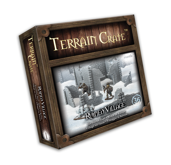 Mantic Games - Terrain Crate: Ruined Village (MGTC209)