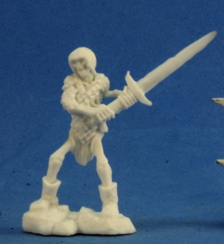 Reaper Bones: Skeleton Guardian 2H Sword (3) (77238)