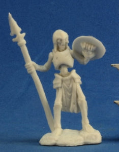 Reaper Bones: Skeleton Guardian Spearman (3) (77239)