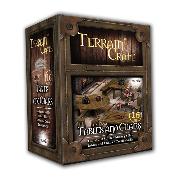 Mantic Games - Terrain Crate: Tables & Chairs (MGTC167)