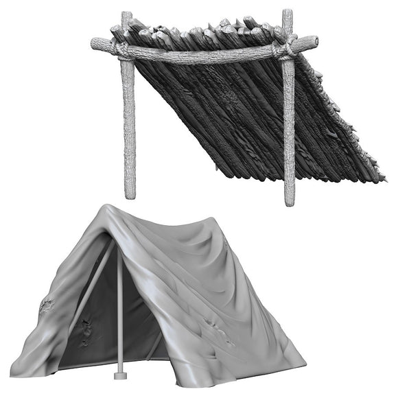 WizKids Deep Cuts: Tent & Lean-To (73858)