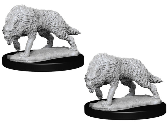 WizKids Deep Cuts: Timber Wolf (2) (73553) (regular wolves, not dire)