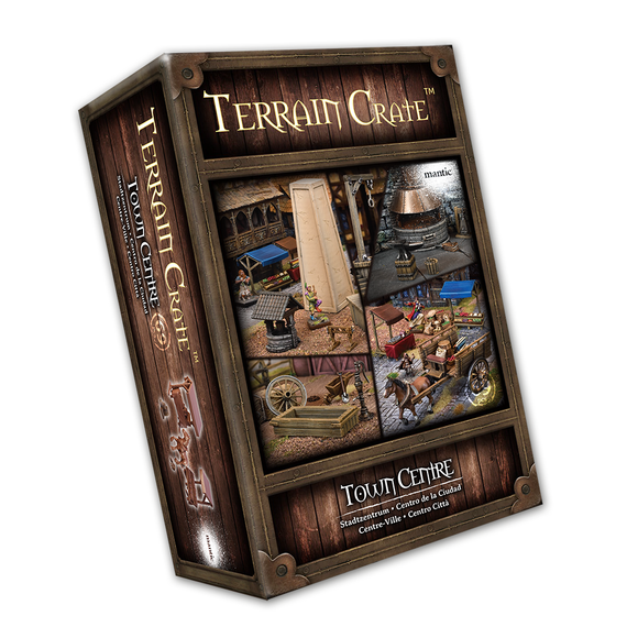 Mantic Games - Terrain Crate: Town Centre (MGTC124)