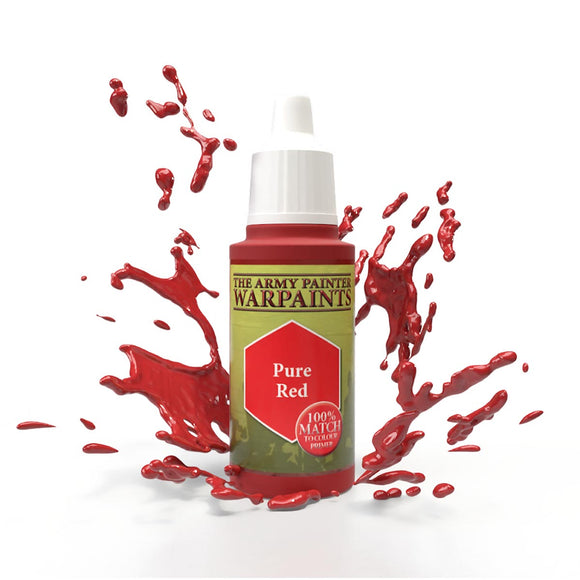 The Army Painter Warpaints: Pure Red (WP1104)