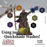 The Army Painter Quickshade Wash: Dark Tone (WP1136)