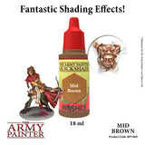 The Army Painter Quickshade Wash: Mid Brown (WP1469)