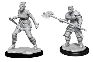 D&D Nolzur's Marvelous Miniatures: Orc Barbarian Female (90145)