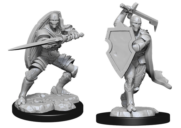 D&D Nolzur's Marvelous Miniatures: Warforged Fighter (90147)