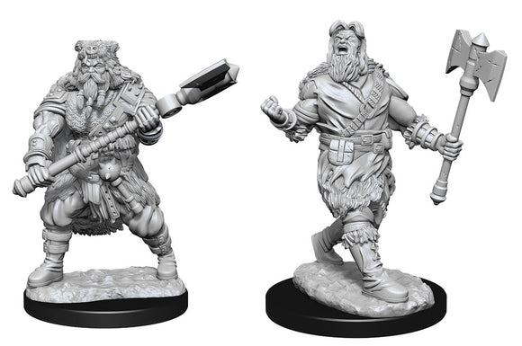 PREORDER - D&D Nolzur's Marvelous Miniatures: Human Barbarian Male (90224)