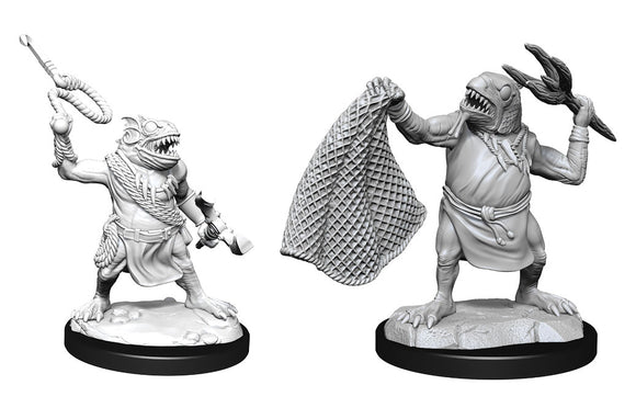 PREORDER - D&D Nolzur's Marvelous Miniatures: Kuo-Toa and Kuo-Toa Whip (90246)
