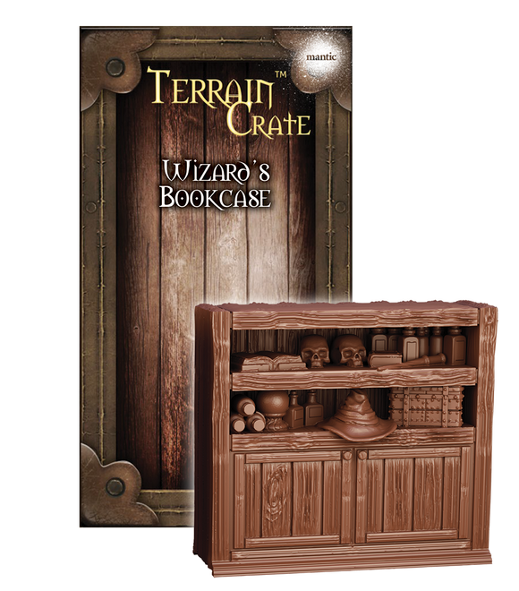 Mantic Games - Terrain Crate: Wizard's Bookcase (MGTC152)