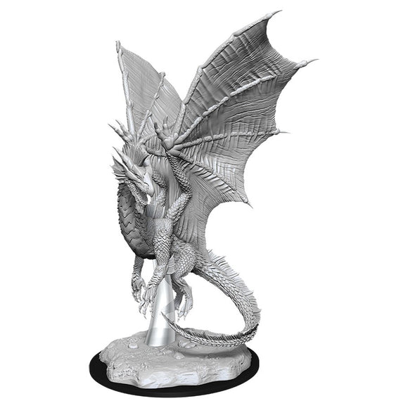 PREORDER - D&D Nolzur's Marvelous Miniatures: Young Silver Dragon (90036)