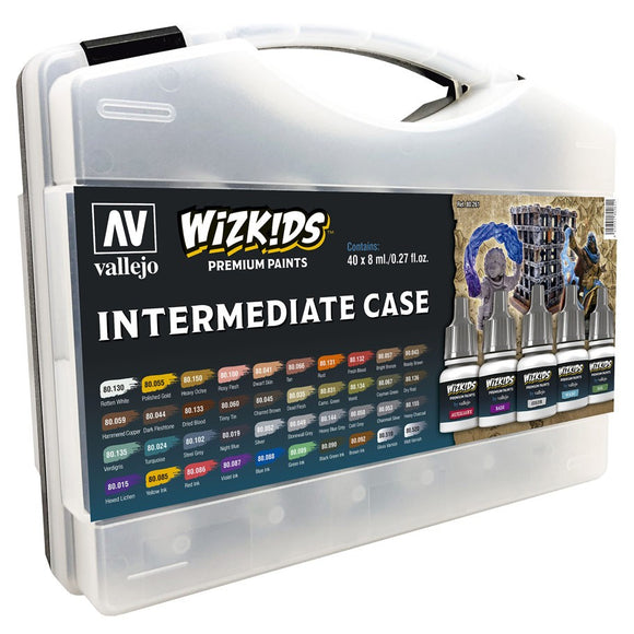 Vallejo WizKids Premium Paints: Intermediate Case (80.261)