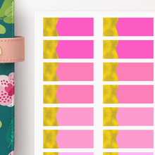 Load image into Gallery viewer, Foiled Appointment Label Functional Planner Stickers