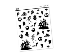 Load image into Gallery viewer, Halloween Clear Deco Doodles