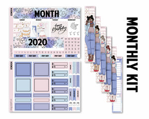 Pick Your Month Birthday Full Monthly Kit