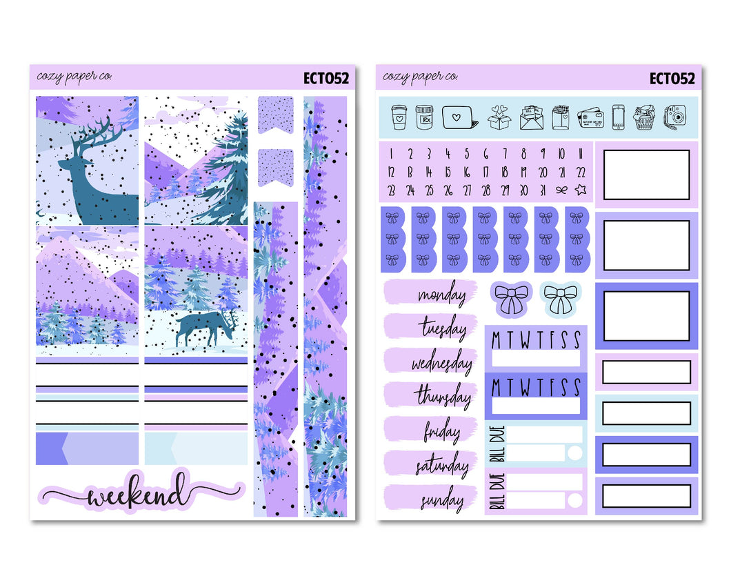 Winter Wonderland Weekly Tiny Kit