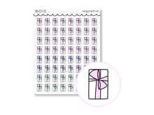 Load image into Gallery viewer, Hand Drawn Foil Sparkle Gift Icons