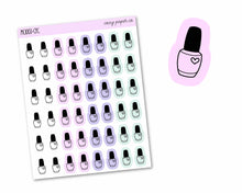 Load image into Gallery viewer, Multicolor Nail Polish Icons