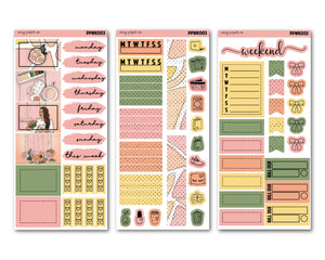 Just Peachy PP Weeks Weekly Kit