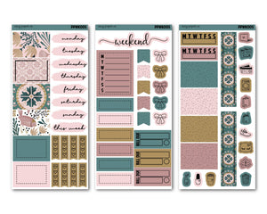 Vintage Forest PP Weeks Weekly Kit