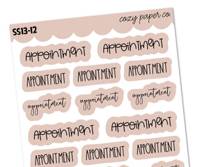 COLOR BUNDLE - Appointment Scripts Sampler