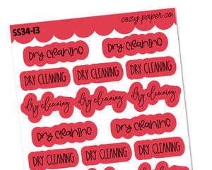 Dry Cleaning Scripts Sampler