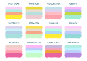 Foil Header Functional Planner Stickers