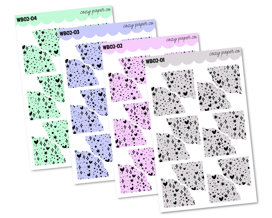 COLOR BUNDLE - Everything Nice Pattern Scalloped Corners (Large)